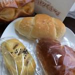 パンくぅ~ - 料理写真:パン達
