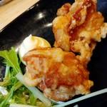 福島壱麺 - とり唐揚げ