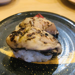 寿司虎 - 炙り邑久かき 塩レモン