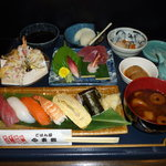 東郷 - 料理写真:ランチタイム限定 東郷膳 ¥1000