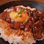 レストランHAMA - 一品料理のステーキ丼