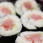 炉端 安来や - 〆は寿司!