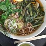 奥高尾 細田屋 - 山菜蕎麦