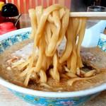 いこい食堂 - いこい食堂@三条 大油ラーメン 麺
