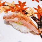 寿司栄 華やぎ - のどぐろ炙り