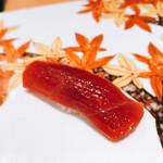 寿司栄 華やぎ - 漬けマグロ