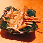 寿司栄 華やぎ - 海老の頭