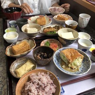 三良坂地豆腐処 豆遊 - 料理写真:
