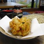手打ち蕎麦 兎々屋 - 料理写真:かき揚げ ざるそば
