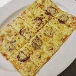 MKYアメリカンレストラン - 『エビサラミピザ』