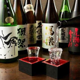 全国各地の日本酒が大集合!!