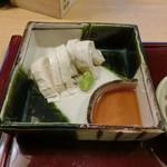 96667226 - 近江富士の湯葉の刺身