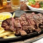 エムズ テーブル - ハラミステーキ 240g 2,480円