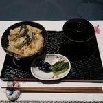 創作料理 櫻 - 広島産牡蠣の炊き込みご飯