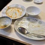 中華シブヤ - 中華シブヤ(東京都中央区八丁堀)ニラ玉・ライス小・エビチリ〜完食!