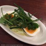 池袋 Cafe&Dining Pecori - アジアン半熟卵