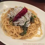 池袋 Cafe&Dining ペコリ - しらすと大葉のペペロンチーノ