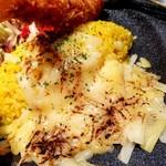 さっぽろルーカレーNAGAMIYA - 炙りチーズ