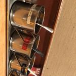 象屋 - 料理写真:ソース3種類