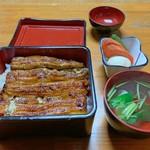 全盛 - 料理写真:うな重 竹