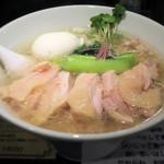 塩生姜らー麺専門店 MANNISH - 塩生姜らー麺肉増し1,000円
