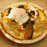 96677386 - トリュフ香る若鶏とカボチャのカルボナーラ風グラタン