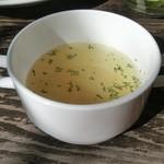 山小屋カフェ エーデルワイス - スープ