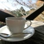 山小屋カフェ エーデルワイス - コーヒー