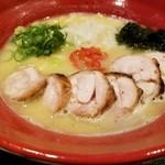 麺や いま村 - 鶏煮干しらぁめん 塩