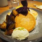 FLIPPER'S - 料理写真:奇跡のパンケーキ3種のスイートポテト