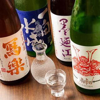 【飲み放題あり】希少な銘柄酒もリーズナブルな価格でご提供!
