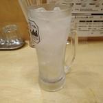 みつ星製麺所 - 生レモンサワー390円