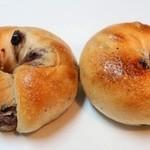 COBO pan - ブルーベリークリームチーズベーグル