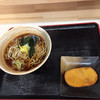 四季蕎麦 - 料理写真:か・けそばと コロツケ