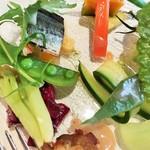 96683097 - 季節の野菜(アップ)