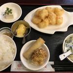 中国料理 福星楼 - エビマヨ定食