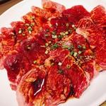 焼肉 又来家 - バリューファミリープレート  (和牛カルビ、ロース、ハラミ  ) ¥2,190.-