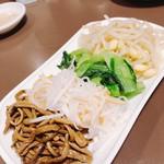 焼肉 又来家 - 四色ナムル ¥390.-