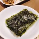 焼肉 又来家 - 韓国のり ¥200.-