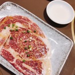 焼肉 又来家 - 特選塩リブロース ¥1,380.-
