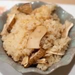うを徳 - 2018.11 トルコ産松茸ご飯