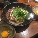 96688181 - * 黒毛和牛のすき焼き  950円 ( 生卵 +100円 )