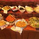 和食イタリアン 葉菜ミドリー静乃 - バイキングお惣菜