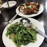 歓迎 - 酢豚と空心菜