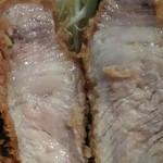 96691535 - リブロース肉汁ドアップ♡