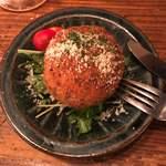 テンセイ - イカとウニのトマトライスコロッケ