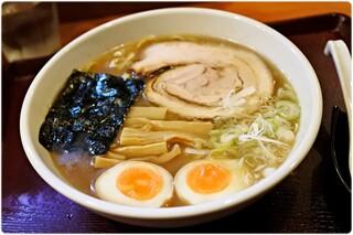めん和正 - 中華麺+味玉 700+50円 地味。ですが確かな旨さ!