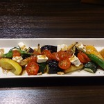 飲み食い処 池家 - 彩野菜ソテーサラダ 絶品です!!