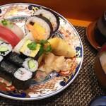 玄海鮨 - 「海」ランチ (800円)