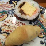 玄海鮨 - いなりと太巻き  これが美味しい